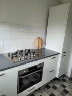 Te koop  een witte  bruynzeel keuken incl apparatuur