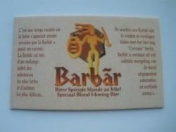 1 Bierviltje Barbar
