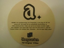 2 bierviltjes Hoegaarden
