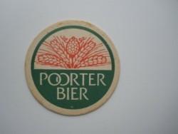 1 bierviltje - Poorter