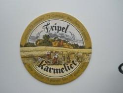 1 bierviltje - Tripel