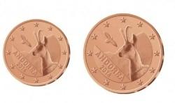 Andorra 1 cent 2014 en 2 cent 2014