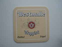 1 bierviltje - Westmalle