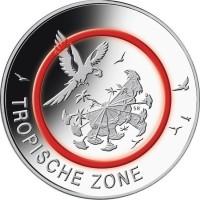 Duitsland 5 Euro 2017 Tropische Zone