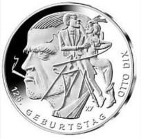 Duitsland 20 Euro 2016 Otto Dix