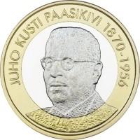 Finland 5 Euro 2017 Paasikivi UNC