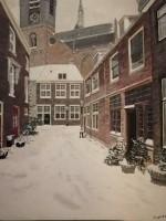 Leiden in corona winter, Beschuitsteeg