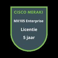 Cisco Meraki MX105 Enterprise Licentie 5 jaar