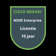 Cisco Meraki MX95 Enterprise Licentie 10 jaar