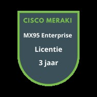 Cisco Meraki MX95 Enterprise Licentie 3 jaar