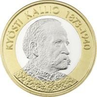 Finland 5 Euro 2016 Kyösti Kallio