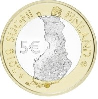 Finland 5 Euro 2018 Haven Helsinki Proof