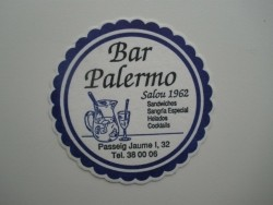 1 bierviltje - Bar Palermo