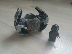 Lepin # Star Wars # 05014 TIE Advanced Prototype # (lego)