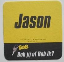 1 bierviltje - Jason