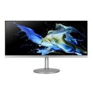 "Acer CB342CK 34"" 4K UHD IPS Monitor - Zwart, Zilver"