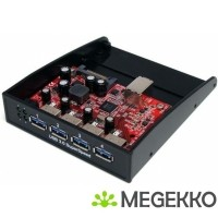 StarTech.com 4-poort Hub USB 3.0 Voorpaneel 3,5/5,25 inch B…