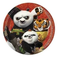 Kung Fu Panda Borden 23cm 8st