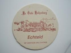 1 bierviltje - De oude Duikenburg Echteld