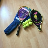 Meisjes tennis racket kompleet
