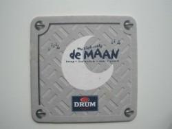 1 bierviltje - DRUM - Muziek-Café De Maan