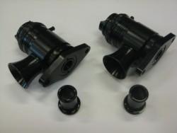 Nissan GT-R R35 Blow off valve open / gesloten