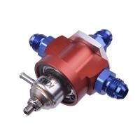 KMS Fuel pressure regulator 3-way with MAP-comp. 0-5 bar ad…