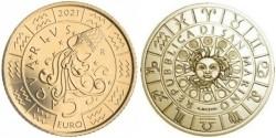San Marino 5 Euro 2021 Zodiac Waterman