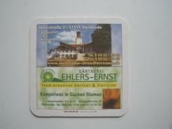1 bierviltje - Ehlers Ernst