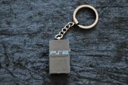 Sony PlayStation 2 Console Keychain