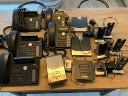 Snom IP-telefoons en deurtelefoon