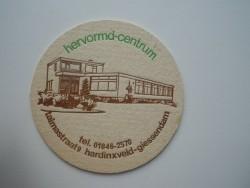1 bierviltje - Hervormd Centrum Hardinxveld