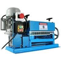 kabelpelmachine elektrisch aangedreven blauw