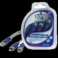 HQSA-013-0.2 Standaard 3.5mm stereo vrouwelijk - 2x rca man…