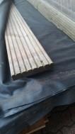 Vlonderhout met groef