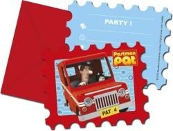 Pieter Post Uitnodigingen 6st
