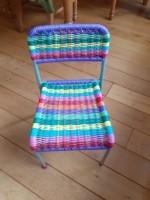 Regenboog kinderstoel