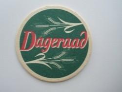 1 bierviltje - Dageraad/lttb