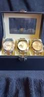 Box met 3 horloges