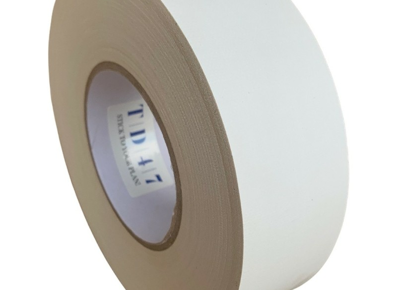 TD47 Gaffa Tape 50mm x 50m Mat Wit