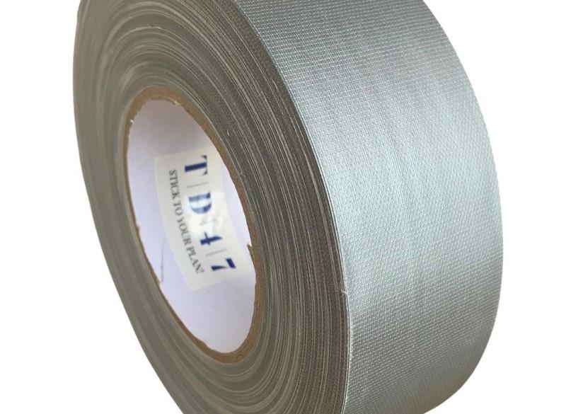 TD47 Gaffa Tape 50mm x 50m Mat Grijs