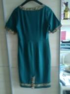 Groene damesjurk