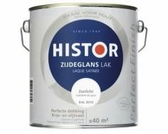 Histor Perfect Finish Zijdeglans Zwart 6372 - 1.25 liter