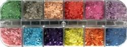 marble flocks box 12 kleuren (nr.2 color)