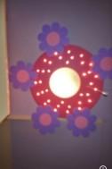 Mooie lamp voor meisjes kamer