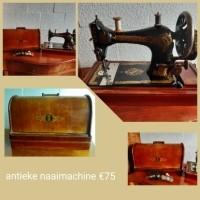 Antieke naaimachine