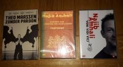 3 DVD's - 1x Theo Maassen en 2x Najib Amhali