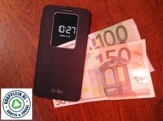 Hoe haal je geld uit je mobiel?