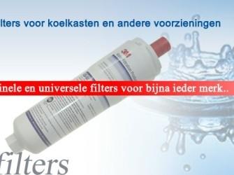 Waterfilter voor koel- of vrieskast
