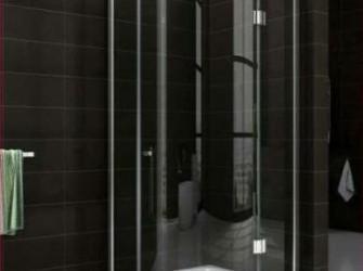 douche cabine kwartronde met 1 deur of 2 deuren